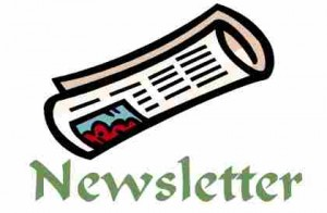 Newsletter Rolled Up Image